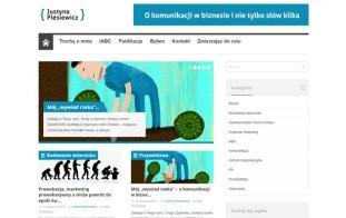 Blog Justyny Piesiewicz