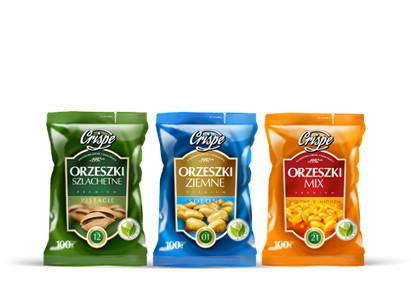 Orzeszki Crispe